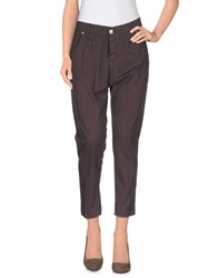 European Culture Trousers Casual Trousers Women Cocoa