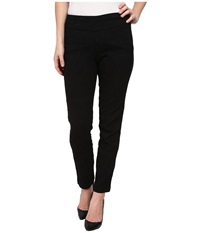 Miraclebody Jeans Janis Lace Jacquard Pull On Pants Black Women's Casual Pants
