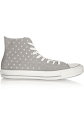 Converse Drizzle Polka Dot Suede Sneakers