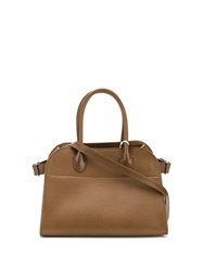 The Row Tote Bag Brown