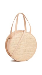Kayu Carrie Round Crossbody Bag Blush