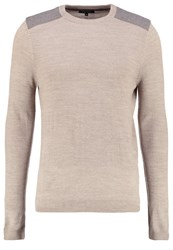 New Look Jumper Oatmeal Beige