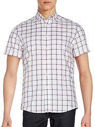 Vince Camuto Checked Button Down Shirt Multi