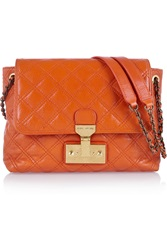 Marc Jacobs The Large Single Quilted Leather Shoulder Bag