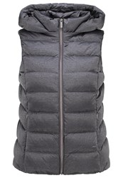 Opus Hilmy Waistcoat Raven Grey Anthracite