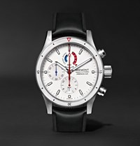 Bremont Oracle Team Usa Regatta Titanium And Rubber Chronograph Watch White