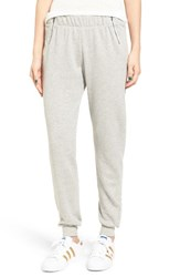 Women's Bp. Zip Detail Fleece Pants