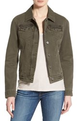 Levi's Twill Classic Trucker Jacket Green
