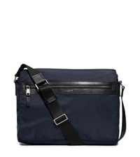 Michael Kors Kent Large Nylon Messenger Indigo