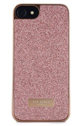 Ted Baker London Sparkles Iphone 7 And 7 Plus Case Pink Rose Gold