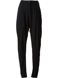 Lost And Found Harem Trousers Black