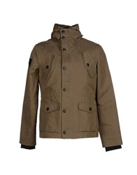 Fred Mello Coats And Jackets Jackets Men Military Green