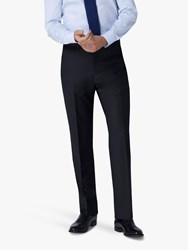 Jaeger 120S Wool Twill Slim Fit Suit Trousers Navy