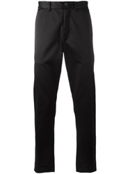 Iceberg Side Stripe Trousers Black