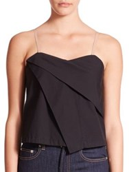 Marc By Marc Jacobs Draped Cotton Tank Top