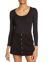 American Apparel Reed Top Black