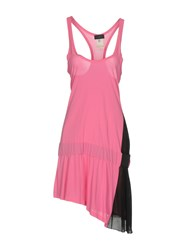 John Richmond Short Dresses Fuchsia
