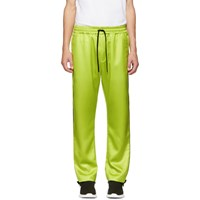 Cmmn Swdn Yellow Buck Piping Track Pants