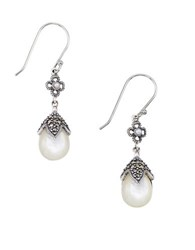 Lord And Taylor 2Mm Freshwater Pearl Pear Drop Earrings