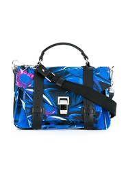 Proenza Schouler 'Ps1' Satchel Blue