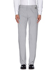 Bikkembergs Trousers Casual Trousers Men Light Grey