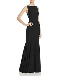 Jarlo Lace Detail Gown Black