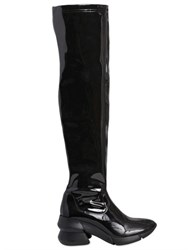 Elena Iachi 60Mm Naplack Effect Over The Knee Boots