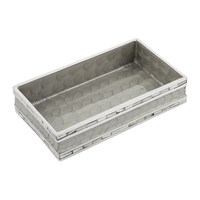 Julia Knight Classic Towel Tray Platinum