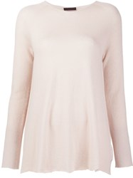 The Row Side Slit Jumper Nude And Neutrals