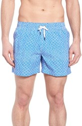 Danward Print Swim Trunks 011 Ocean