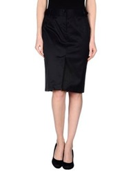 Mariella Rosati Knee Length Skirts Dark Blue