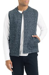 Good Man Brand Slim Fit Vest Charcoal Heather