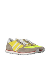 George J. Love Low Tops And Trainers Yellow