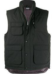 Andrea Crews Patch Pocket Padded Gilet 60