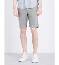 Slowear Regular Fit Stretch Cotton Shorts Khaki