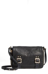 Vince Camuto Delos Leather Crossbody Bag Black