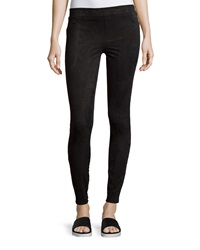 Spanx Easily Suede Textured Leggings Very Black