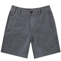 Acne Studios Robin Garment Dyed Twill Short Grey