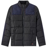 Barbour Dhow Heavyweight Quilted Jacket Blue