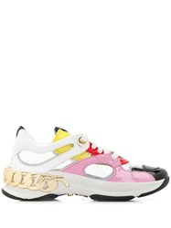 Casadei Chunky Sneakers Pink