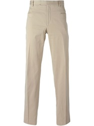 Dolce And Gabbana Vintage Classic Chinos Nude And Neutrals