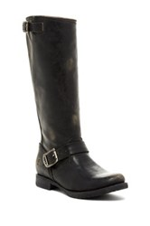Frye Veronica Slouch Buckle Boot Black