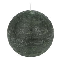 Amara Rustic Spherical Candle Olive