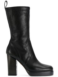 Rick Owens Classic Chunky Boots Women Leather 38 Black