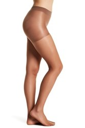 Shimera Everyday Sheer Control Top Tight Brown