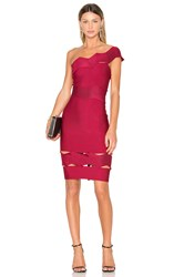 Lolitta Livia One Shoulder Fitted Dress Red