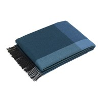 Vitra Color Block Blanket Black Blue