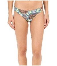 L Space Zulu Tribal Emma Bitsy Bottom Multi Women's Swimwear