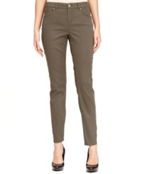 Styleandco. Style And Co. Curvy Fit Skinny Leg Jeans Only At Macy's Warm Taupe