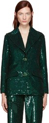 Ashish Green Sequin Blazer